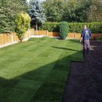 Turf Laying in Dunham, Expertly Completed for a Beautiful Lawn